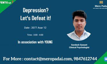Depression? Let's Defeat it!