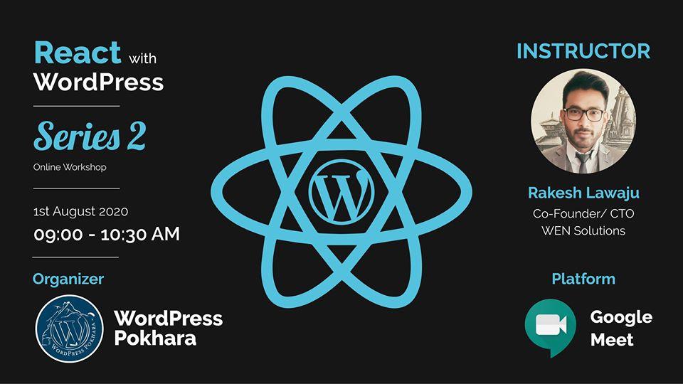 wordpress pokhara react with WordPress