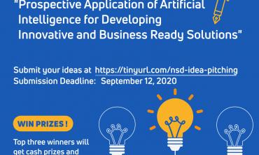 Idea Pitching Competition by Kathmandu University Computer Club(kucc) on 12 September 2020