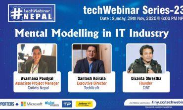 Mental Modelling in IT Industry Organized By techWebinarNepal