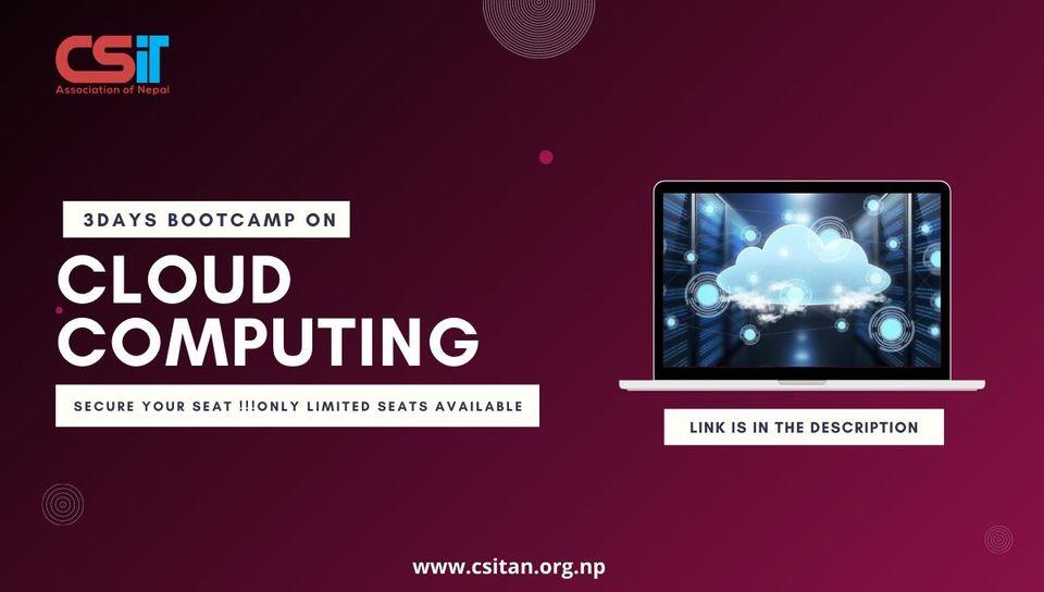 Cloud COmputing Bootcamp