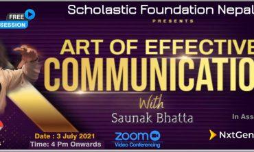 Art of effective communication with Saunak Bhatta- SFN