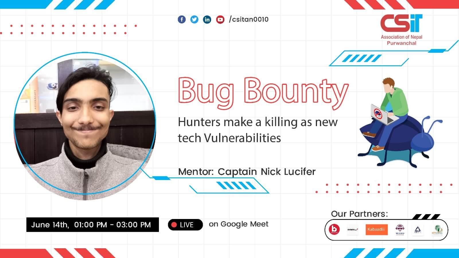 bug bounty captain nick lucifer